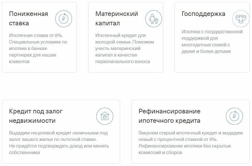Ипотечные программы в банке Тинькофф
